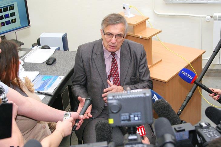 Виктор Гроховский. Фото УрФУ
