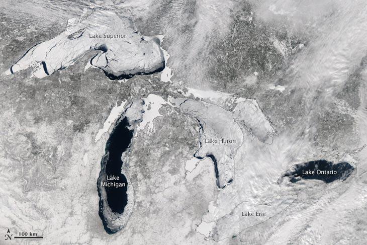 Foto per gentile concessione di MODIS