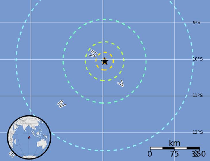 Карта с сайта Геологической службы США
