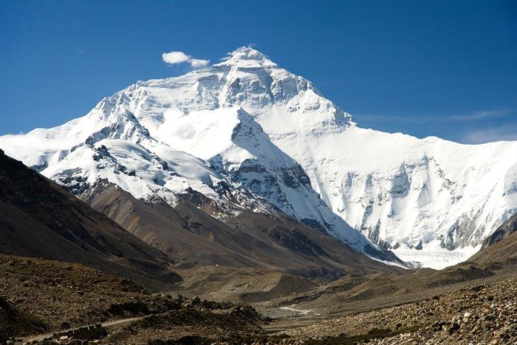 Эверест. Фото: Luca Galuzzi / Wikipedia