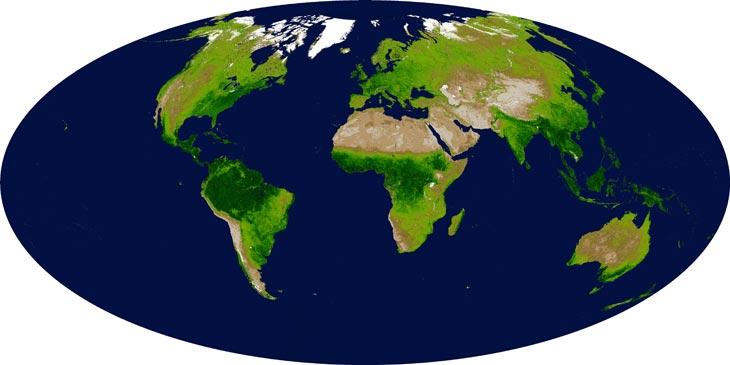 Фото с сайта The Earth Observatory