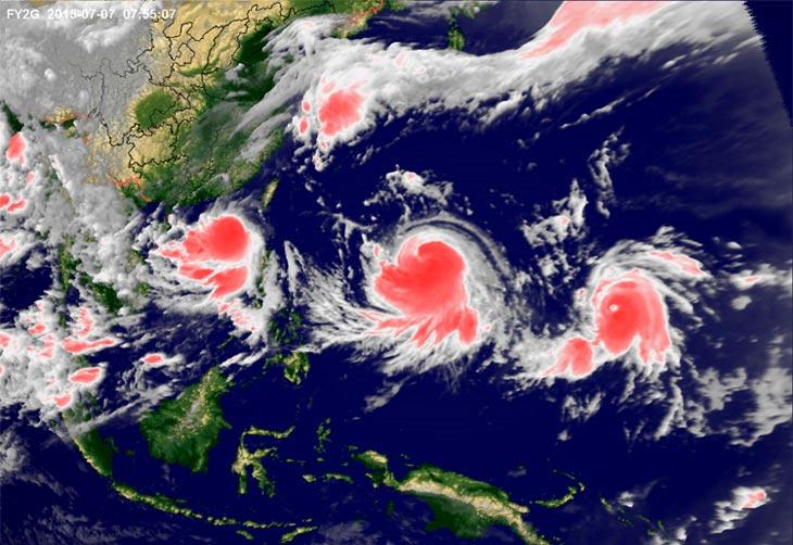 Фото с сайта Метеорологической администрации Китая