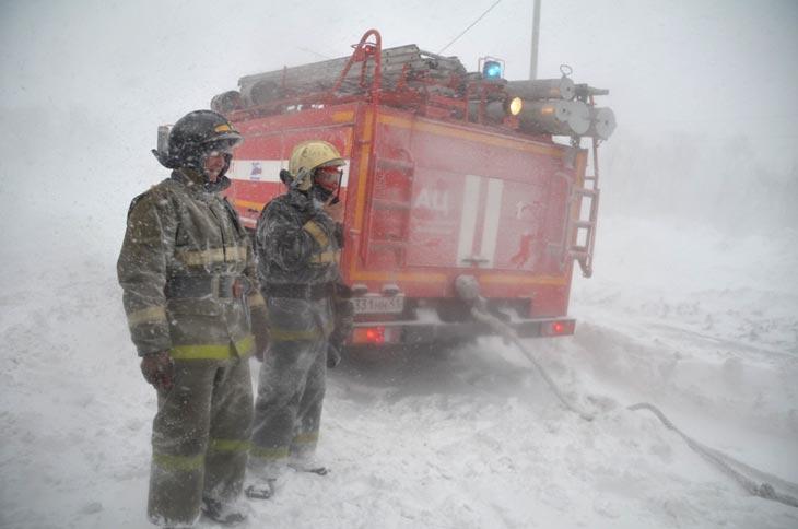 Камчатский край, 16 марта 2016 года. Фото с сайта ГУ МЧС России по Камчатскому краю