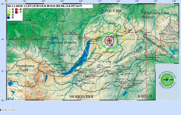 Карта с сайта Байкальского филиала Геофизической службы СО РАН