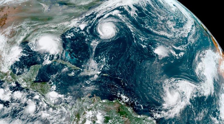 В Атлантике уже 5 тропических циклонов: у Кабо-Верде сформировался тропический шторм «Вики»